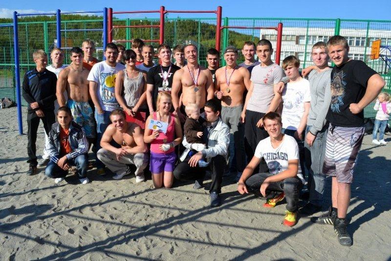 уличные спортсмены Мурманск